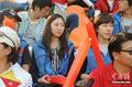 韩国美女助威球队
