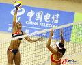 高清:女子沙排 张希/薛晨横扫对手晋级决赛