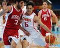 中国男篮对战约旦赛况