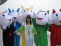 高清:广州亚运难说再见 绿色志愿留灿烂一笔