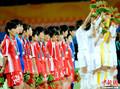 高清:亚运会女足冠军战 日朝两队悲喜两重天