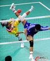 女子藤球中国0:2越南