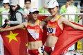 刘虹20公里竞走夺冠