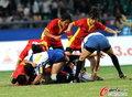 中国女子橄榄球摘银