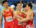 中国男子接力小组第一
