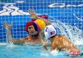 高清:中国香港水球队不敌哈萨克斯坦队
