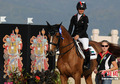 高清:阿联酋美女公主马术个人障碍赛夺银牌