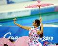赛场中国古典美女亮眼