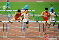 高清:刘翔三连冠成亚运第一人 飞人再度起航