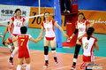 高清:亚运会女排1/4决赛 中国完胜中华台北