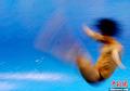 高清:跳水赛场 移形幻影