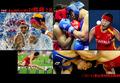 亚运赛场24日图片精粹