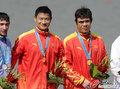 中国千米男双皮艇夺冠