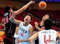 日韩男篮激烈对战