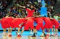中国男篮标志性开场秀