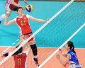 中国女排胜朝鲜进决赛