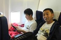 组图:刘翔载誉返上海 腾讯万米高空专访飞人
