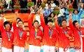 中国女篮取亚运三连冠