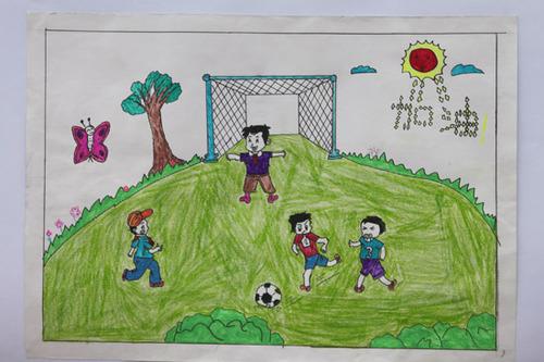 儿童画 500_333图片