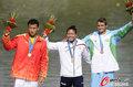 高清:200米单人皮艇 日本选手夺冠周鹏摘银
