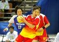 高清:女子手球决赛 中国击败日本夺金牌