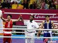 高清:邹市明绝对优势夺冠 蝉联亚运拳击冠军