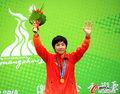 高清:女子拳击57-60KG级 董程绝对优势夺冠