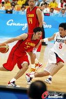 高清:中国男篮险胜韩国 豪夺亚运会第七冠