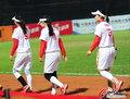 中国女子垒球憾负摘银