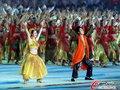 高清:亚运闭幕式 民族风情舞蹈绽放别样美丽