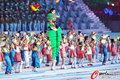 高清:亚运会完美闭幕 民间特色表演扣人心弦