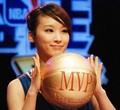 组图:国内最美篮球女主播 银屏外展妖娆一面
