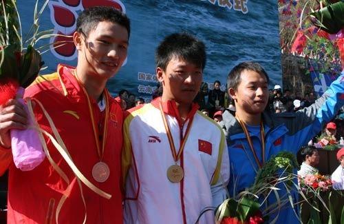 怒江皮划艇公开赛落幕 亚运冠军摘划艇银牌