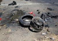 组图:青年开日本车飙车 造就最恐怖车祸现场