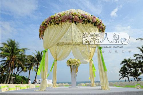 素人土楼布置南靖百万浪漫婚礼之现场打造篇厦门去三亚新婚自驾游攻略图片