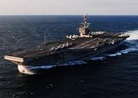 高清:美向西太部署里根号航母 总数将达3艘
