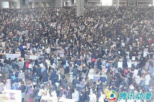 日本最大同人动漫盛会c79火热开幕(2) - 青空动