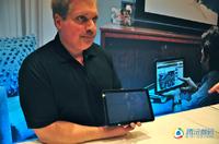 CES2011:体验摩托罗拉平板电脑XOOM