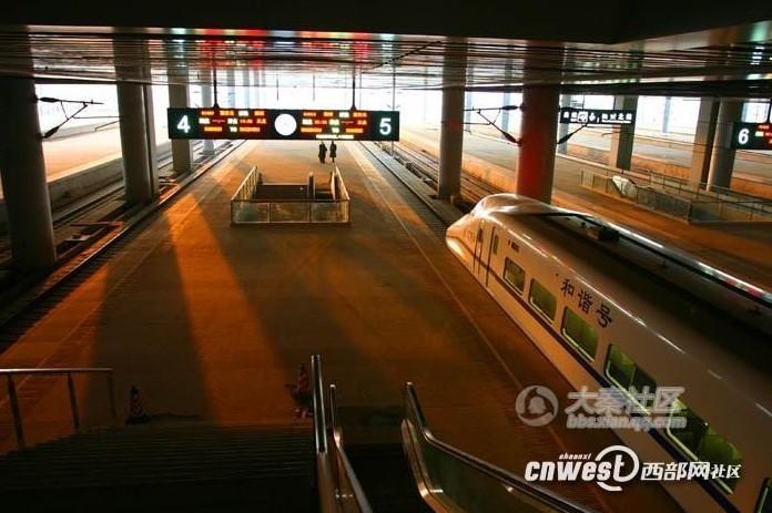网友实拍西安北客站:亚洲最大