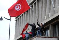 高清:突尼斯冲突升级 总统流亡总理代行其职