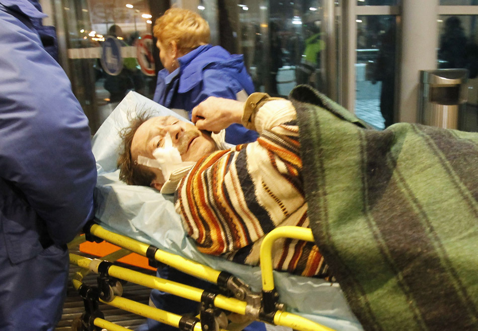 伤者被送往医院救治。