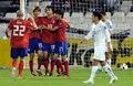 组图:韩国3-2乌兹获季军 具滋哲个人第五球