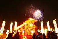 组图:金沙太阳节华丽开幕 火树银花耀蓉城