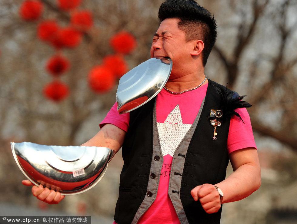 """""""民间绝技""""亮相北京龙潭庙会 - 酒鬼鼠的日志 - 网易博客 - 不老松 - nihao1234123 的博客"""