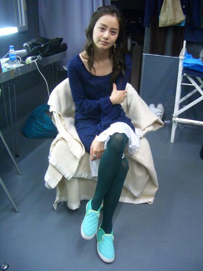 转载不老童颜!韩国第一美女金泰熙绝美生活照