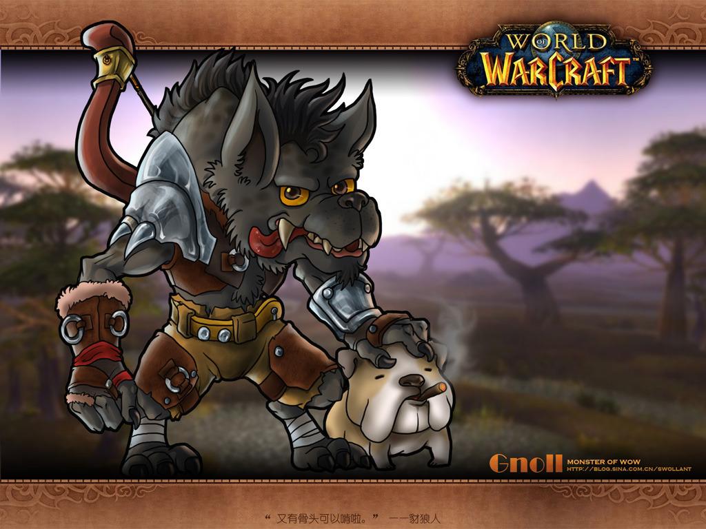 爱跟自己宠物抢肉抢骨头吃的war3万年经验——豺狼人