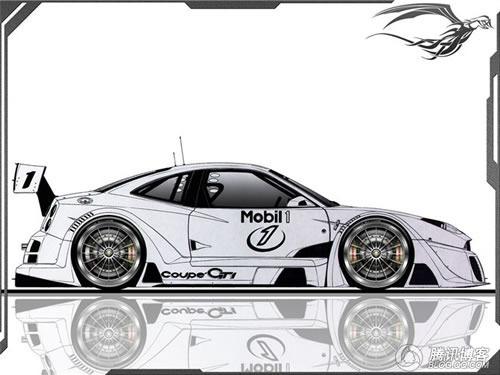 创意源自这里 概念汽车手绘设计制作图