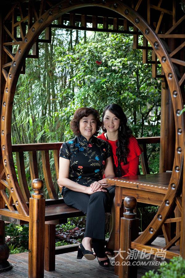 廖韦佳和妈妈何永智
