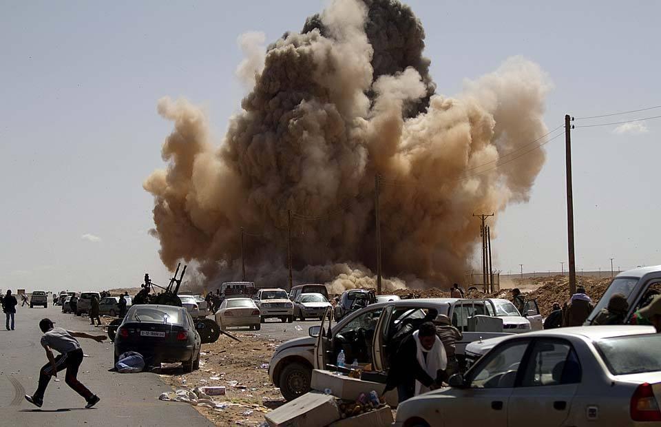 2014利比亚最新局势_高清:利比亚局势持续动荡