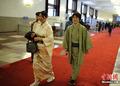 高清:妇女节招待会 日本客人穿着和服